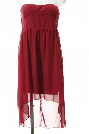 Vila Cocktail Dress dark red elegant