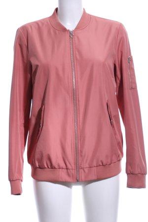 Vila Collegejacke pink Casual-Look