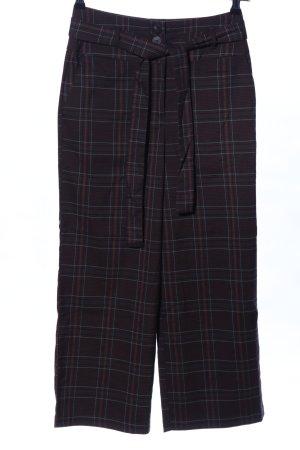 Vila Pantalone culotte motivo a quadri stile casual