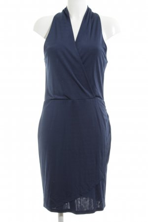Vila Cut-Out-Kleid blau Casual-Look