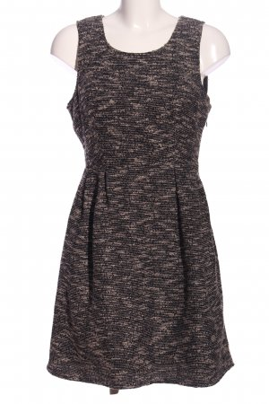Vila Cut-Out-Kleid schwarz meliert Casual-Look