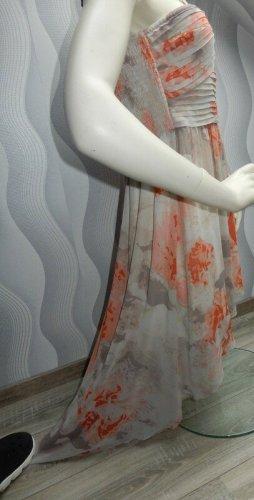 Vila Sukienka typu babydoll pomarańczowy