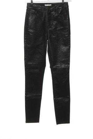 Vila Pantalone cinque tasche nero stile casual