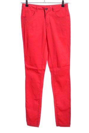 Vila Five-Pocket-Hose pink Casual-Look
