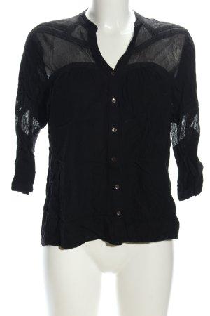 Vila Flannel Shirt black casual look