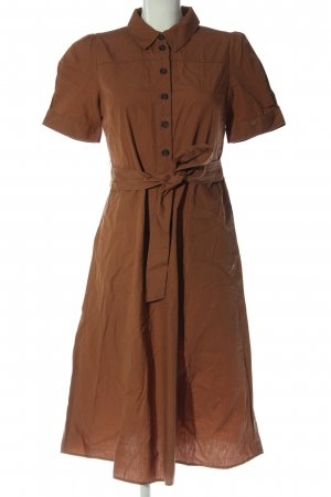 Vila Shirtwaist dress brown casual look