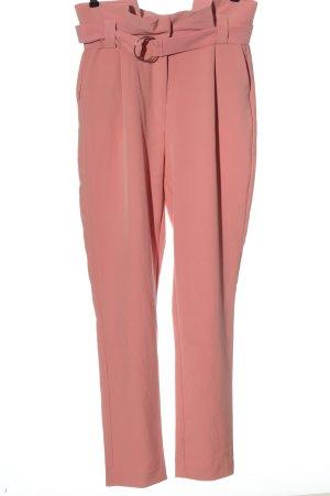 Vila High Waist Trousers pink casual look