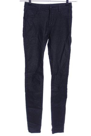 Vila High Waist Jeans schwarz meliert Casual-Look