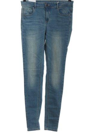 Vila High Waist Jeans blau Casual-Look