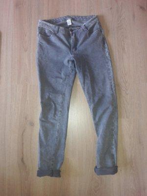 Vila Drainpipe Trousers grey