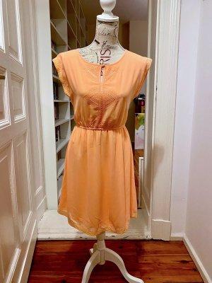 Vila Illusion Kleid | peach nectar | Gr. S | Neu mit Etikett