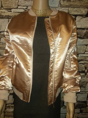 Vila Bomber Jacket gold-colored-sand brown