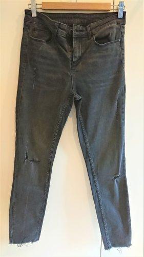 Vila Jeans stretch noir coton