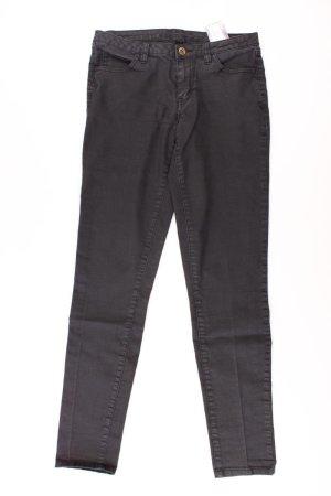 Vila Jeans Größe M grau aus Baumwolle