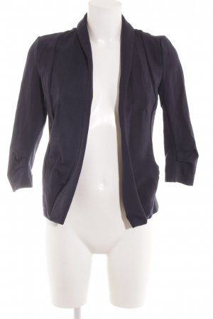 Vila Jerseyblazer dunkelblau Business-Look