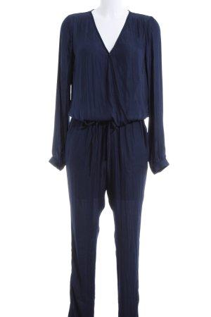 Vila Jumpsuit blau Business-Look