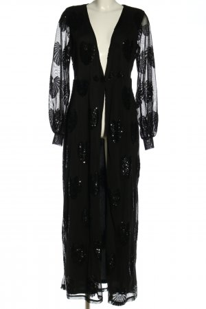 Vila Kimono nero stile stravagante