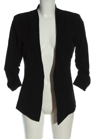 Vila Klassischer Blazer schwarz Casual-Look