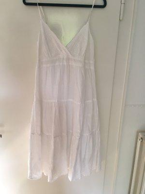 Vila Kleid aus Broderie Anglaise