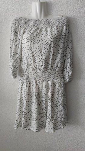 Vila Midi Dress white-dark grey