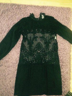 Vila Kleid schwarz Xs 34 neuwertig
