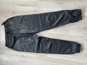 Vila Pantalon en simili noir