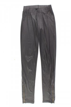 Vila Faux Leather Trousers black polyester