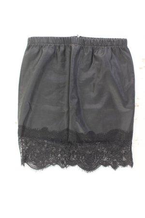 Vila Faux Leather Skirt black polyurethane