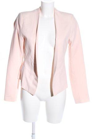 Vila Kurz-Blazer pink Business-Look