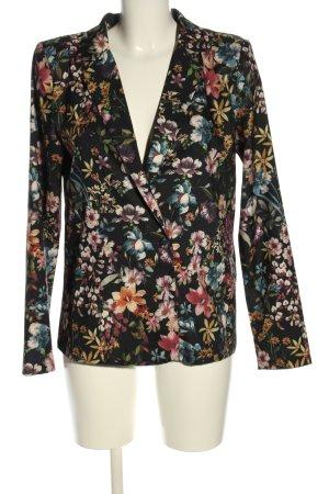 Vila Korte blazer bloemenprint zakelijke stijl