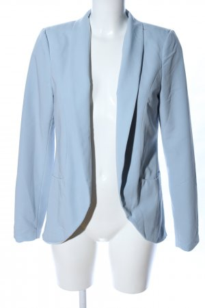 Vila Kurz-Blazer blau Business-Look