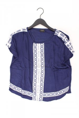 Vila Short Sleeved Blouse blue-neon blue-dark blue-azure viscose