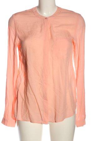 Vila Langarm-Bluse pink Business-Look