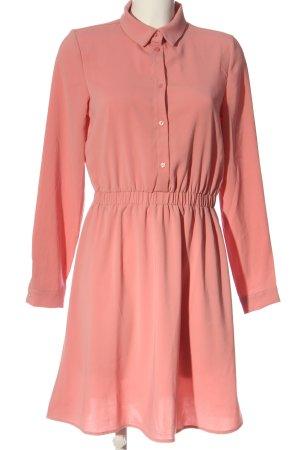 Vila Langarmkleid pink Business-Look
