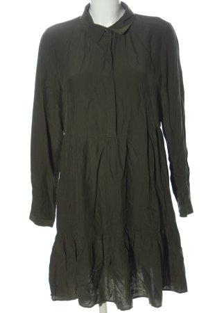 Vila Longsleeve Dress khaki business style