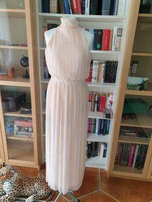 Vila Langes Kleid Maxikleid Abendkleid Gr M (38) rosa Glitzend langes Kleid NEU