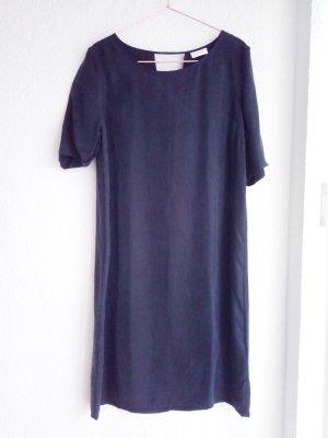Vila Shortsleeve Dress anthracite-black viscose