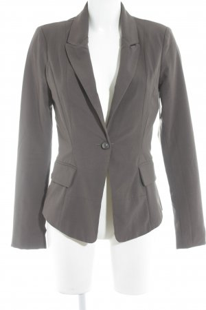 Vila Lange blazer grijs-bruin