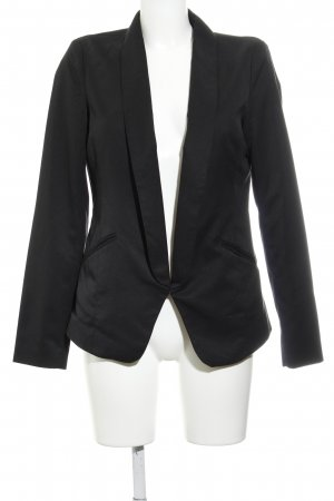 Vila Lange blazer zwart klassieke stijl