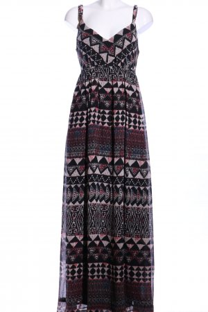 Vila Maxikleid grafisches Muster Casual-Look