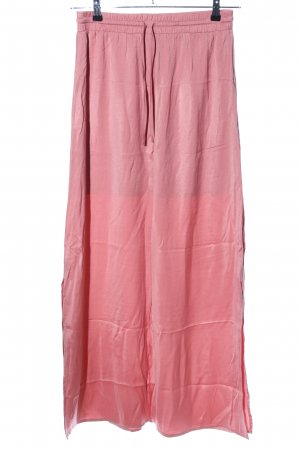 Vila Maxi gonna rosa stile casual