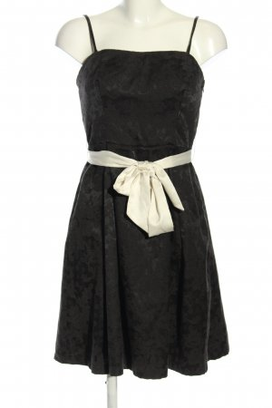 Vila Minikleid schwarz-wollweiß Elegant