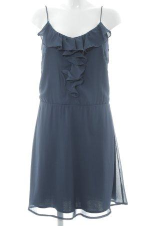 Vila Minikleid dunkelblau Elegant