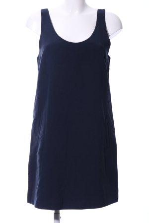 Vila Minikleid dunkelblau-goldfarben schlichter Stil