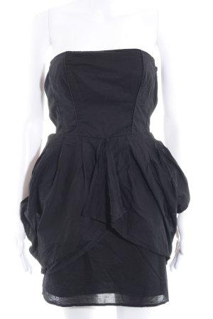 Vila Minikleid schwarz Elegant