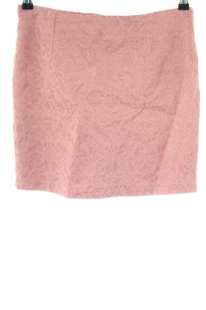 Vila Minirock pink Allover-Druck Elegant