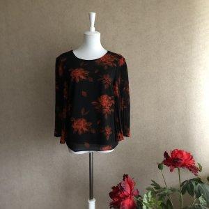 Vila Davantino (per blusa) nero-arancio neon