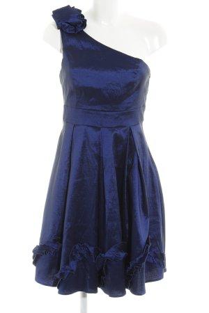 "Vila One-Shoulder-Kleid ""Alissa"" dunkelblau"