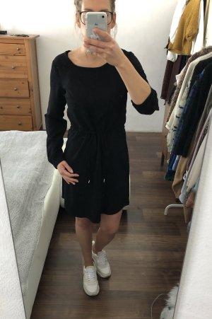 VILA Oversize Kleid Blusenkleid schwarz Gr. 34 S