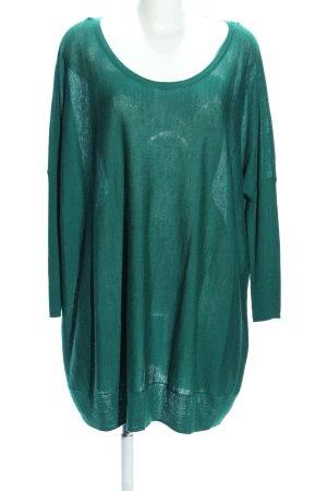 Vila Oversized Shirt grün Casual-Look